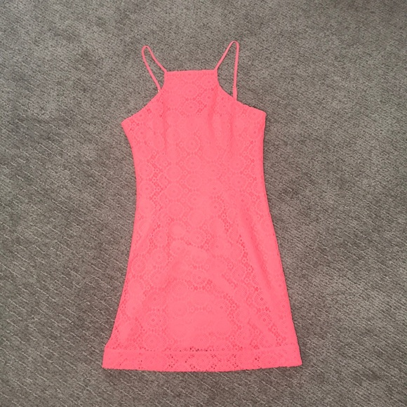 Lilly Pulitzer Dresses & Skirts - Lilly Pulitzer coral dress size XS NWOT